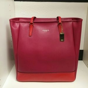 NWT Coach Two Tone Tote